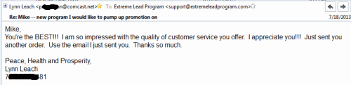 Great High Quality Customer Service (Just purchased new solo ad order)