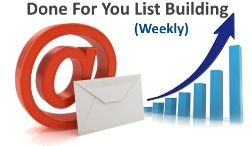 Done For You Lists Weekly