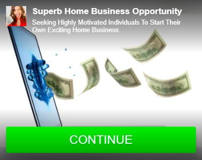 Superb Home Business Opportunity Sample Contextual Ad