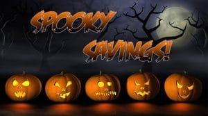 Spooky Savings Image