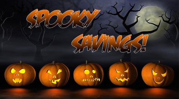 Spooky Savings Image