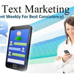 SMS Text Blast Weekly