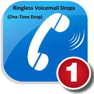 One-Time Ringless Voicemail Drop