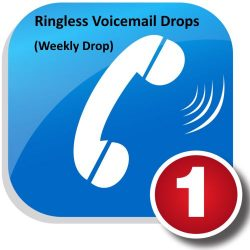 Weekly Ringless Voicemail Drop