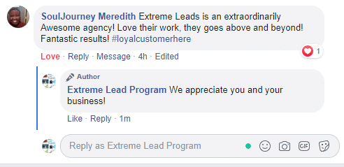 Extreme Lead Program Extraordinary Awesome Agency Fantastic Results