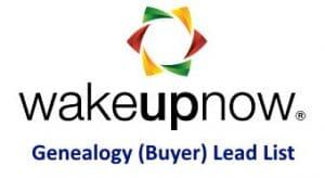 WakeUPNow MLM Genealogy Buyer Lead List