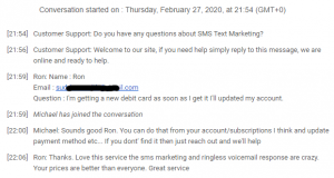 Extreme Lead Program Review Loves SMS Marketing and Ringless Voicemail Service Responses are crazy