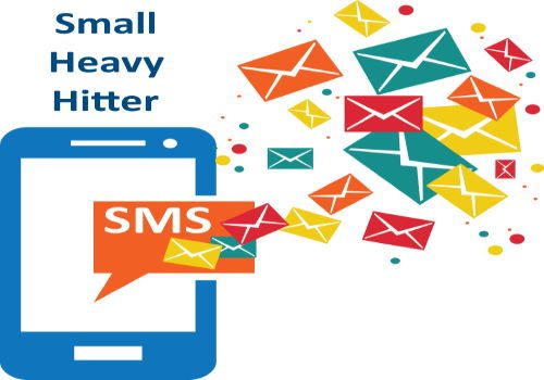 SMS Text Ad Small Heavy Hitter One Time