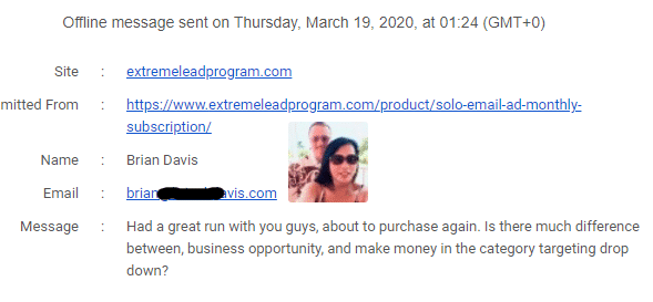 ExtremeLeadProgram review - great solo ad run - about to purchase again