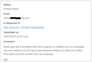 Extreme Lead Program Review - Solo Email Ad Monthly - Wonderful-Job