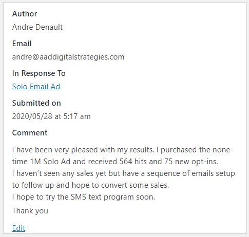 Extreme Lead Program - Solo Email Ad Review - Very Pleased With My Results