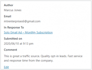 Extreme Lead Program Monthly Solo Email Ad Review - Great Traffic Source - Quality Opt-ins