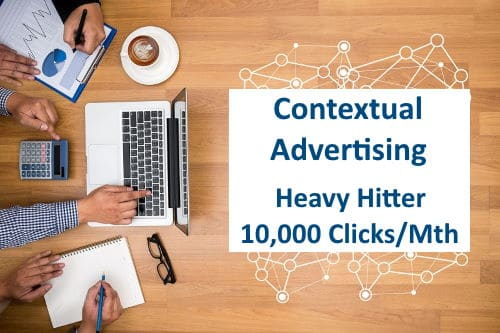 Contextual Advertising Heavy Hitter Monthly - 10,000 Clicks