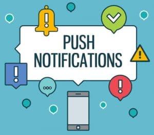 Push Notification Marketing Advertising