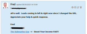 Extreme Lead Program - Solo Email Ad Review - All Is Well - Leads are coming in left and right