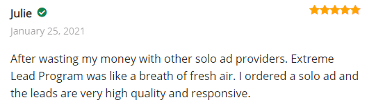 Extreme Lead Program Solo Ad Review - Breath Of Fresh Air - Leads Are Very High Quality and Responsive