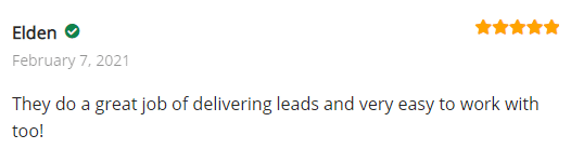 Extreme Lead Program - Solo Email Ad Reviews - Great Job of Delivering Leads - Easy To Work With