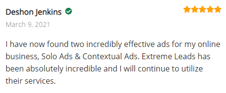 Extreme Lead Program Reviews - Contextual Ads - Incredibly Effective - Extreme Leads Has Been Incredible