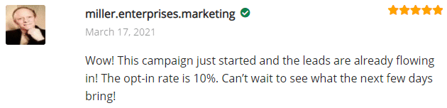 ExtremeLeadProgram Reviews - SMS Text Ads - Campaign Just Started and the leads are already flowing in - 10 percent opt-in rate