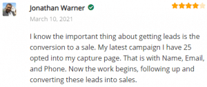 Extreme Lead Program Reviews - Solo Email Ads - 25 opted into my capture page now the work begins following up and converting these leads into sales
