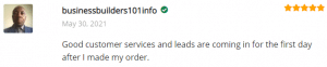 Extreme lead Program - Solo Email Ad Review: Good customer services and leads are coming in for the first day after I made my order.