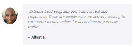 Extreme Lead Program - PPC Traffic Review - real and responsive