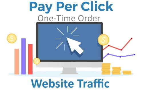 Pay Per Click Website Traffic - One Time Order